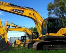 Excavadoras Lovol - Fr220d - Motor Cummins -