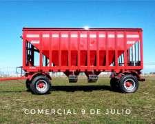 Acoplado Tolva Fertilizante 24tt Doble Cono Conese