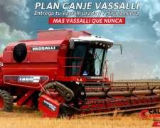 Cosechadora Vassalli 1550 - Plan Canje