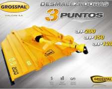 Desmalezadora De 3 Puntos 3p 200 150 120 - Grosspal