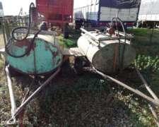 Cisternas de 1000 Lts. C/ Bomba
