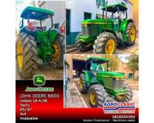 Tractor Johon Deere 6600