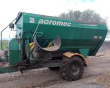 Mixer Agromec Md 95 - Capacidad 5 Tons