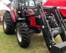 Tractor MF 6711 C/pala OM600 - Nuevo - Entrega Inmediata