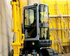 Miniexcavadora E27b New Holland Construccion