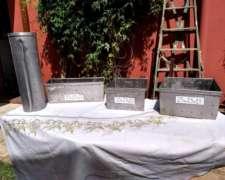 Molde para Quesos Cuadrado Ac.inox. 25cm X 25cm X 13cm