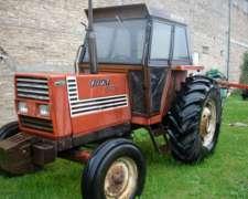 Tractor Fiat 780 Con Tres Puntos Y Doble Control Remoto