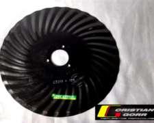 Cuchilla Turbo 33 Ondas 18 Pulgadas / Sembradora Crucianelli