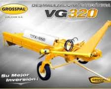 Desmalezadora Hileradora Cardanica VG 320 Grosspal