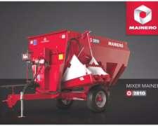 Mixer Horizontal Mainero 2810 De 6 M3 De Capacidad.