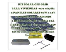 Kit Solar Autoinstalable 640wh/día