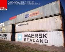 Contenedores Maritimos Usados, Containers 40 ST