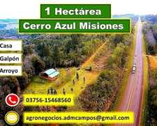 1 Hectárea - Sobre Ruta - Cerro Azul Misiones