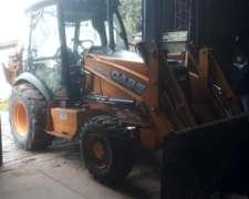 Cargadora Retro Excavadora Case 580n 4X4