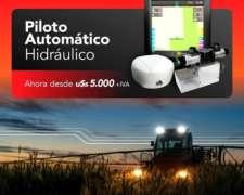 Piloto Automático para Tractor Sensor Tecnología