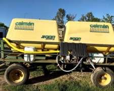 Acoplado Con Tanque Para Agua Capacidad 4000 Motobomba