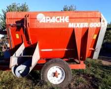 Mixer Apache 600, de 6m3, Casi sin USO