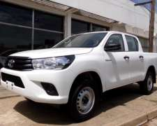Hilux D/C 2.4l DX 4X2 0km MY20 7 Airbags, Financia TCF