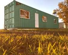 Container Vivienda 40 Pies (30 M2)
