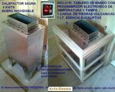 Calefactor Para Sauna Acero Inoxidable