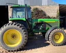 Tractor John Deere 4760 año 1996 Reparado Bien de Gomas