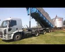 Camión Enganchado con Batea Bonano