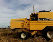 Cosechadora New Holland TC59 Hidro con 23 Pies