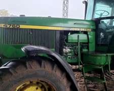 Tractor John Deere 4760 Dual muy Excelente Estado General