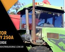 Tractor Pauny 250 A, Linea Verde, Necochea