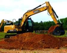Excavadora Sany Sy135c de 15 Toneladas Desde