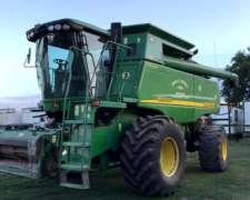 Coasechadora JD 9650, año 2008