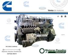 Motor Cummins 6bt - 5.9 - 160 HP - Rectificado con Garantía