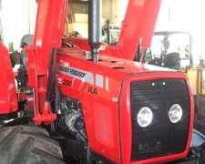 Tractor Massey Ferguson MF 290 RA con Pala 100 HP