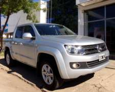 Amarok D/C 2.0 TDI Highline Pack 4X4 A/T año 2014, Impecable