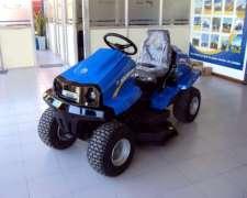 Tractor Cortardor De Cesped New Holland