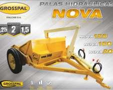 Pala Hidráulica Nova 125 - Grosspal