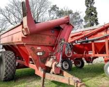 Autodescargable 14 TN con Balanza y Lona - 1 Eje - Montecor