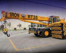 Gruas Todo Terreno Iron Xcmg Desde 15 Tn Hasta 200 Tn