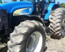 Tractor New Holland, Modelo: TM 7010, Año: 2008