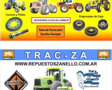 Servicio a Tractor Tracza