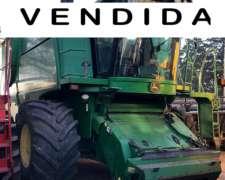 Cosechadora John Deere 9660 STS Vendida