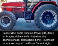 Tractor Case 5150 y Maicero John Deere