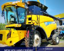 New Holland CR9060 con Cabezal - 35 Pies