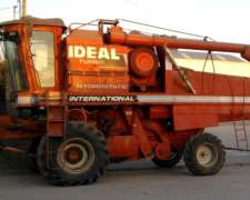 Cosechadora Internacional Ideal 9090