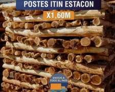 Postes Palo Itin para Boyero Electrico X 1,60m Agraso 2021