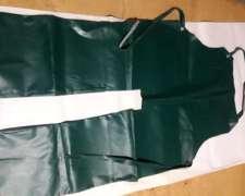 Delantal Pantalon para Cortadores de Pasto en PVC