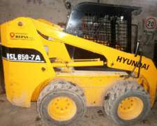 Minicargadora Hyundai 850 7