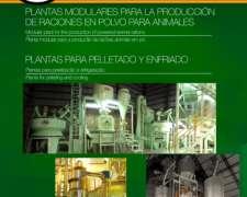 Plantas Elaboradoras de Alim. Balanceados en Polvo