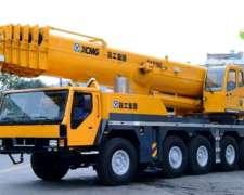 Nueva Grúa De 160 Toneladas Sobre Camión Iron Xcmg Qay160