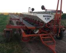 Sembradora Migra S 22. Directa. de 10 a 52 CM.